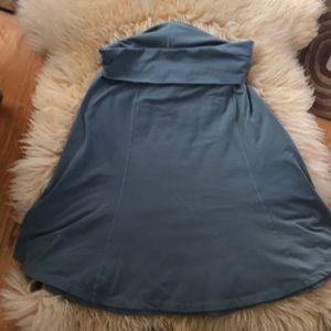 Lucy roll-over waist skirt